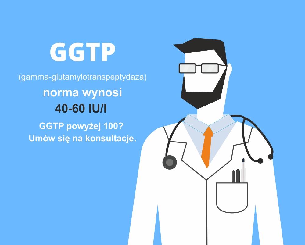 ggtp normy, kiedy do lekarza