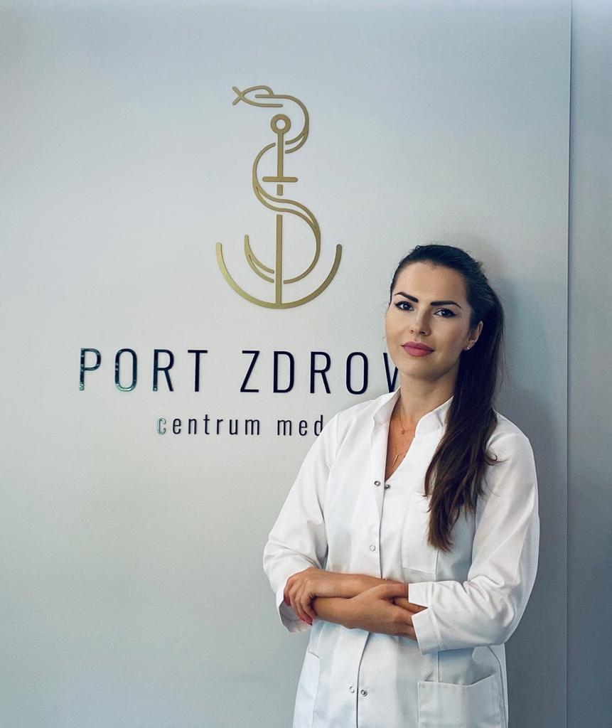 Dermatolog Dr nauk med. Edyta Lelonek